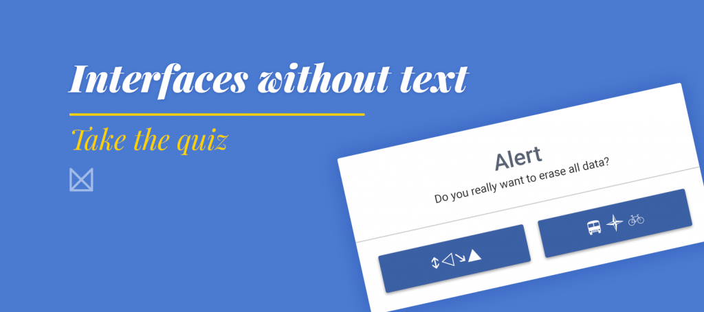 text free interface