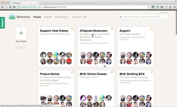 Basecamp_product management tools