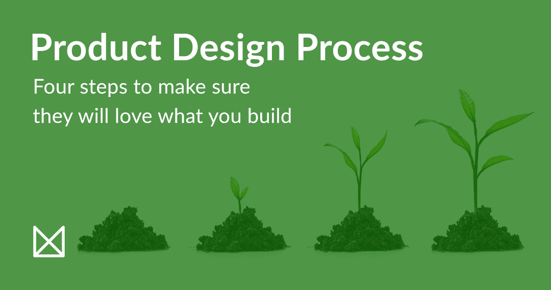 Product Design Process  Four Steps To Build A Product