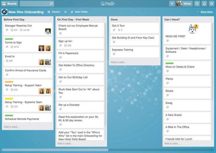 Trello_product management tools
