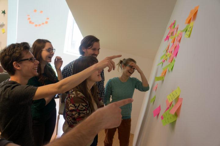 ux studio brainstorming