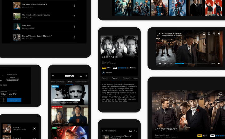 HBO GO Redesign