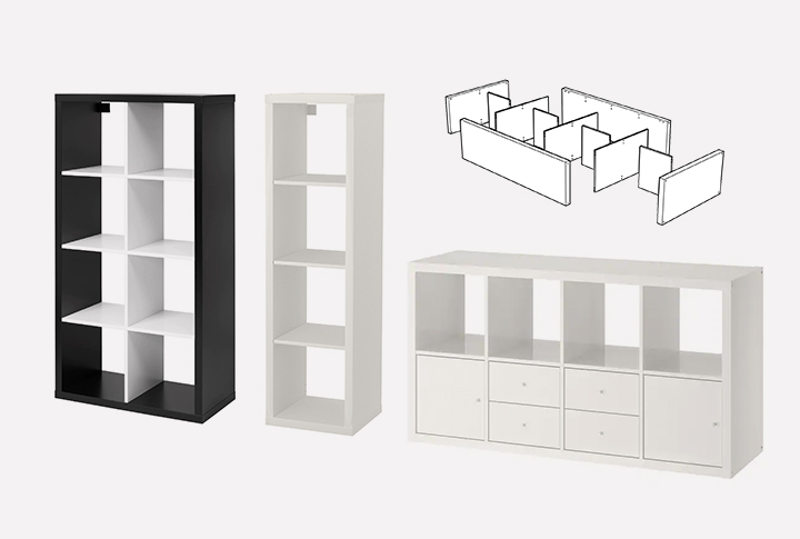 Ikea kallax modular shelf unit