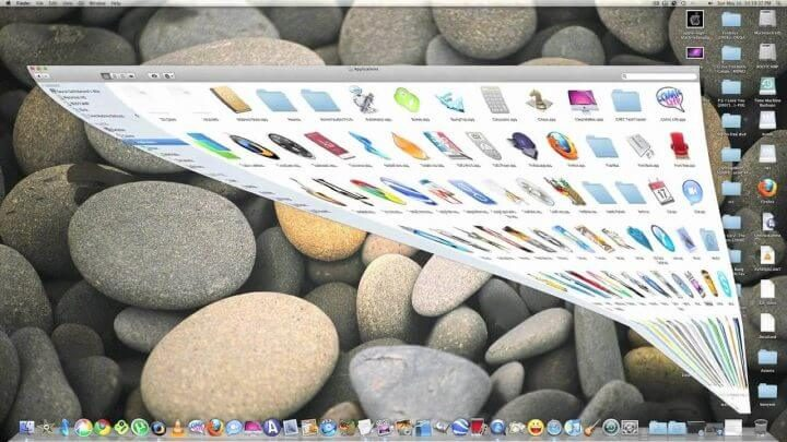 macOS screen animation