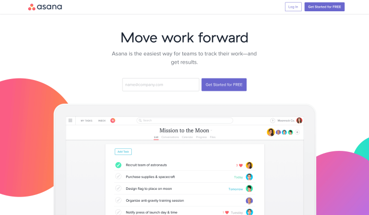 Asana_product management tools