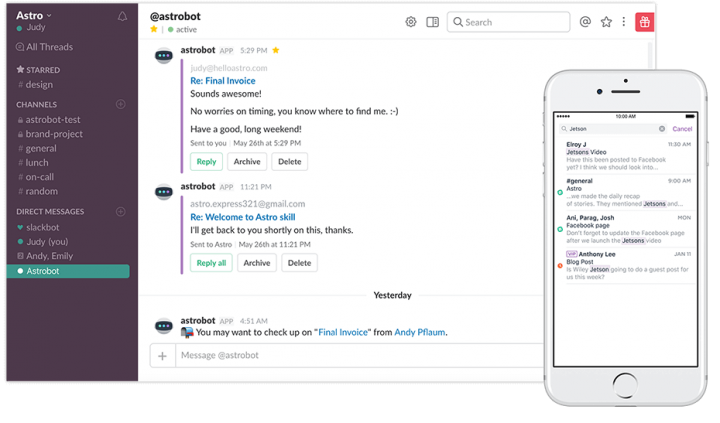 Slack_product management tools