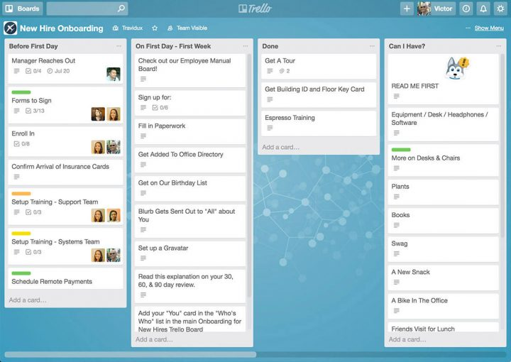 Trello_product management tools
