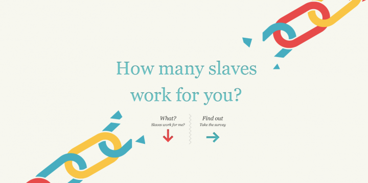 How Can UX Save The World - Products For Social Change - Slavery Footprint