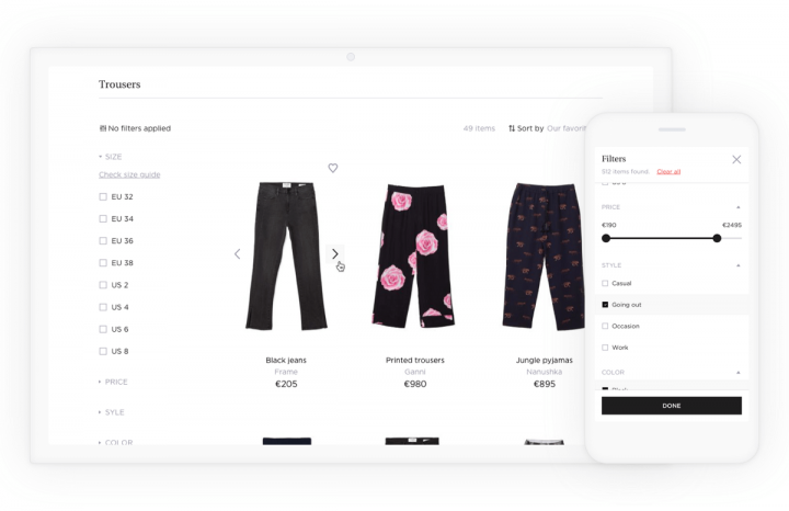 E-commerce UX Case Study Societe Store Selection