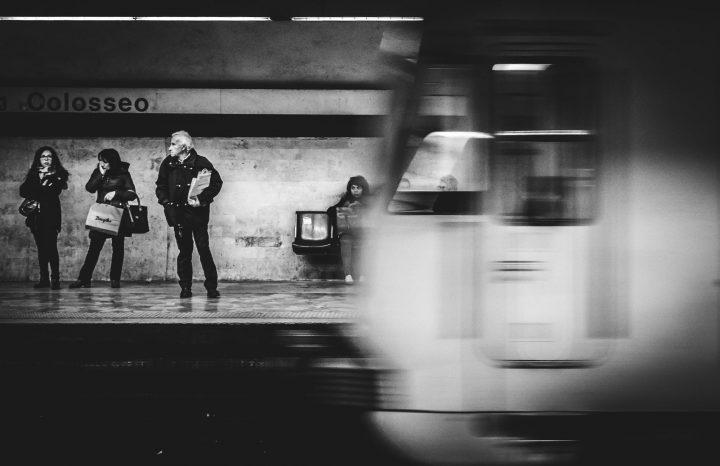 Digital Space_Metro In Rome