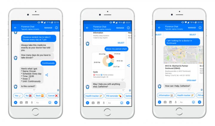Healthcare UX_Health Chatbot Florence