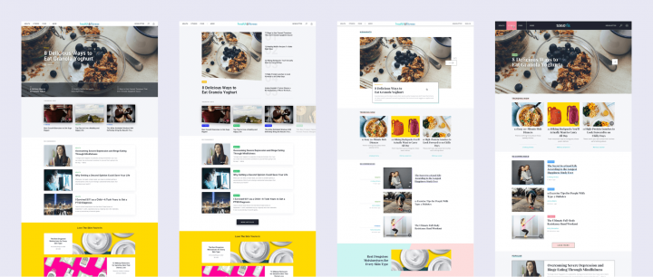 UX case study Screens Ads