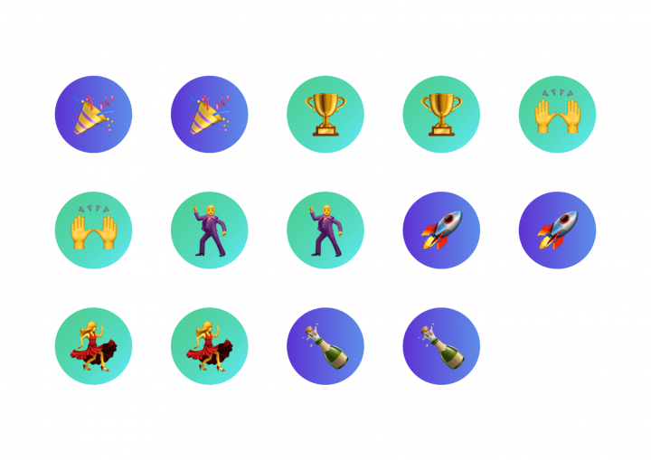 Company Objectives UX studio Emoji Stickers
