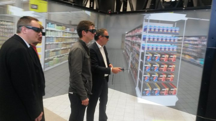 VR in UX Testing Store Interiors
