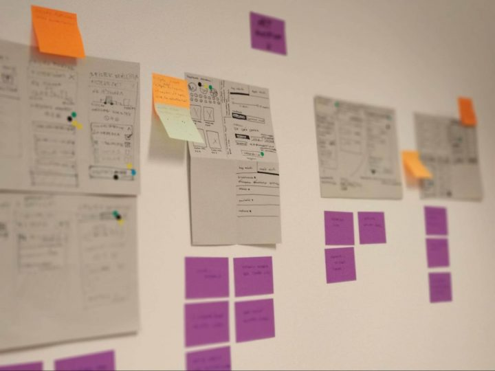 Design sprint art gallery example