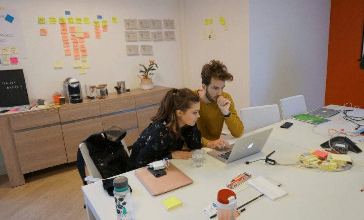 UX consultants working together