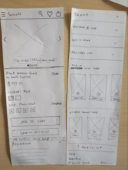 Web designer vs web developer: UX design example 2