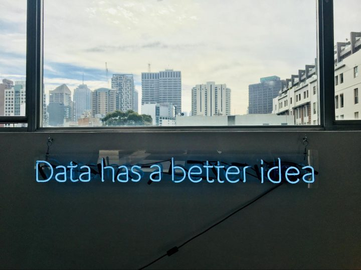 Business value of design: Data has a bette idea written in an office