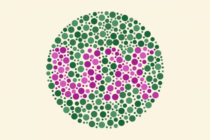 Website accessibility: UX in color blind test