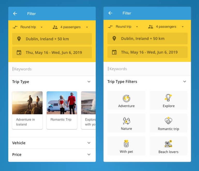 Rent Search Engines: UX Case Study: Search Engine Redesign For RV Rental
