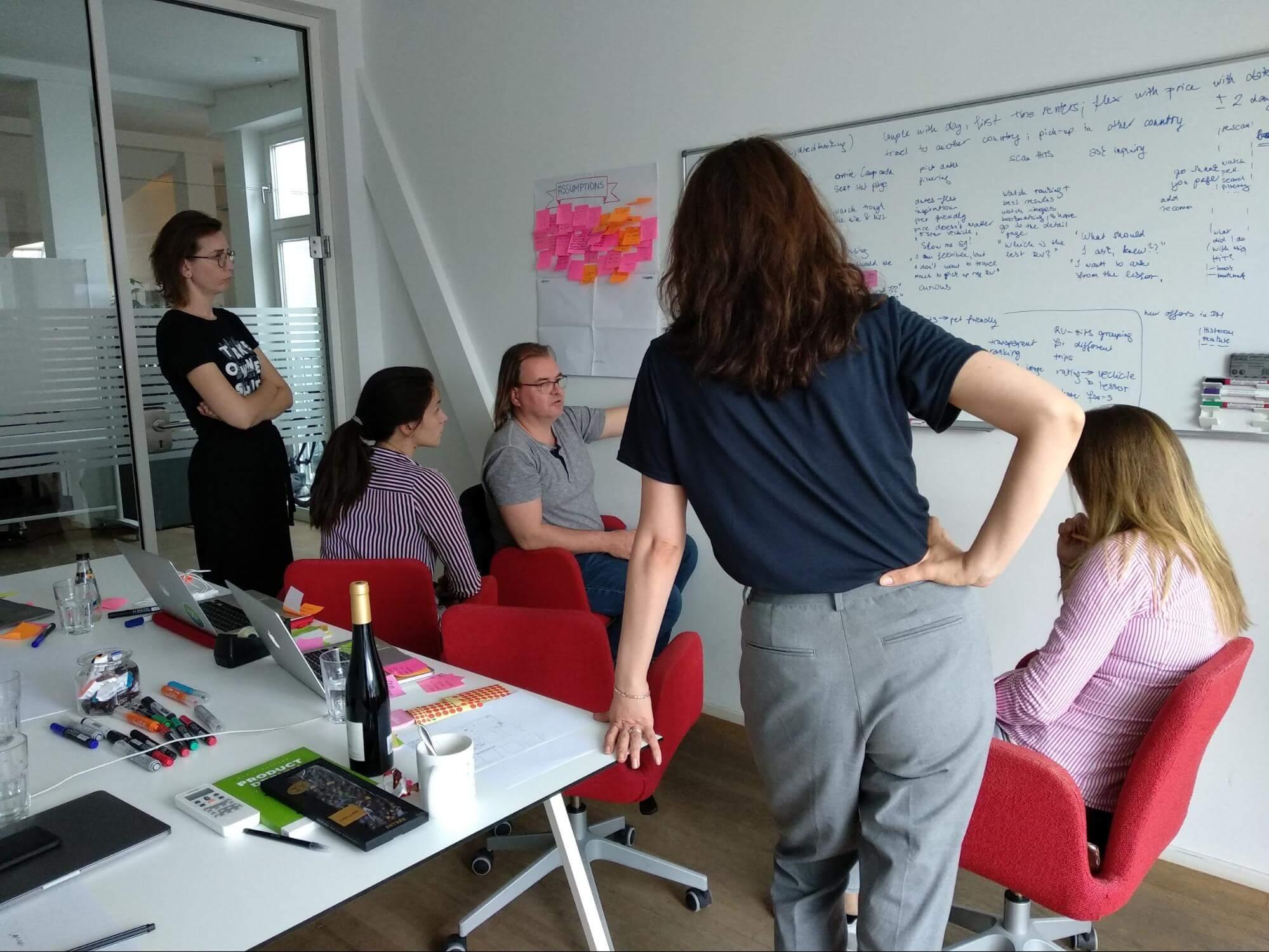 UX case study - campanda ux team