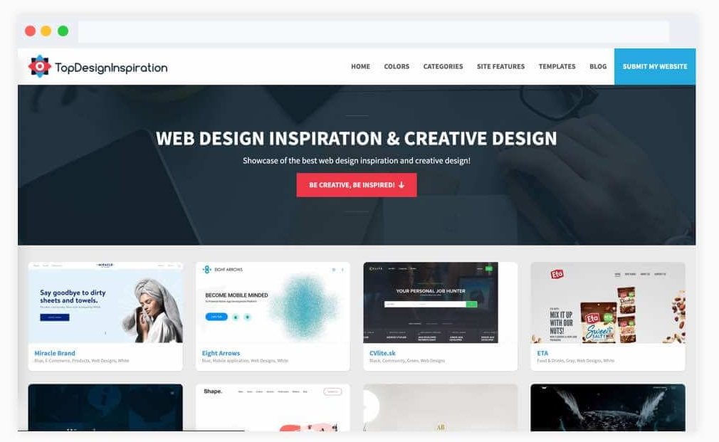 Top design inspiration