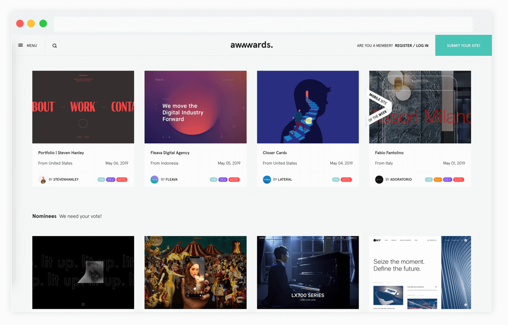 15 Web Design Inspiration Sites 2020 Designer S Tips