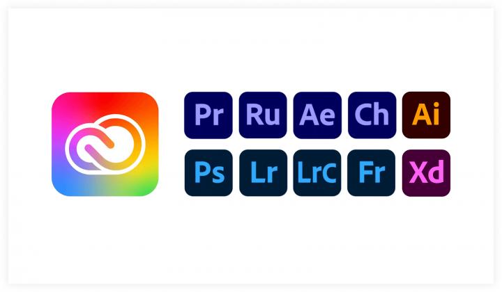 Variable logos Adobe