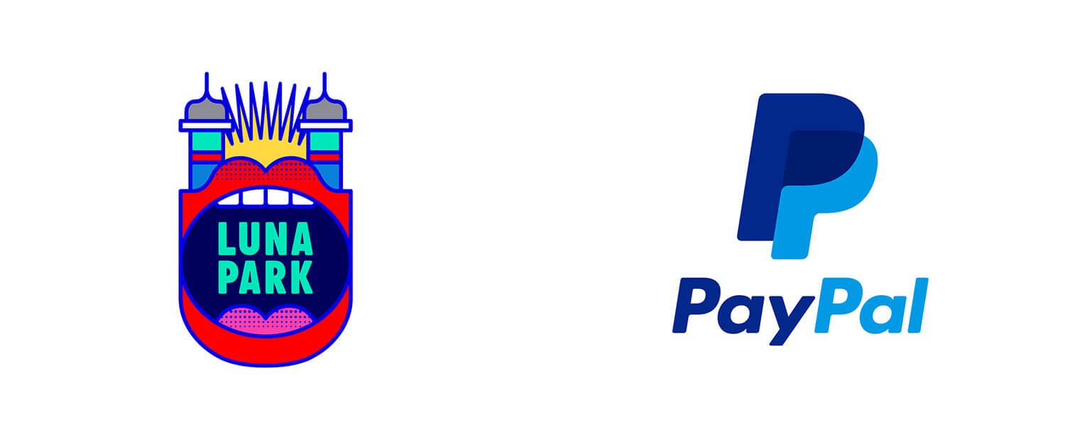 Screen printing logo trends from PayPal