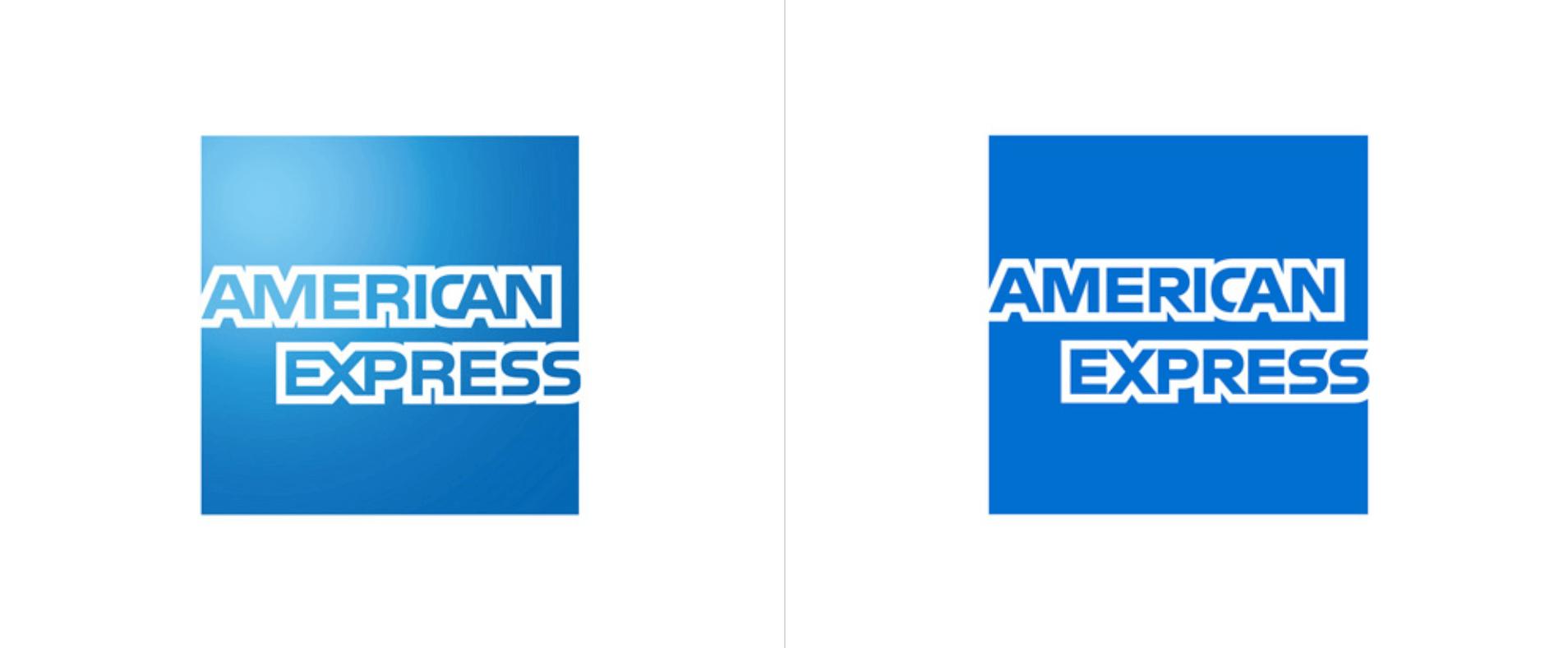 Amex contemporary logo trend