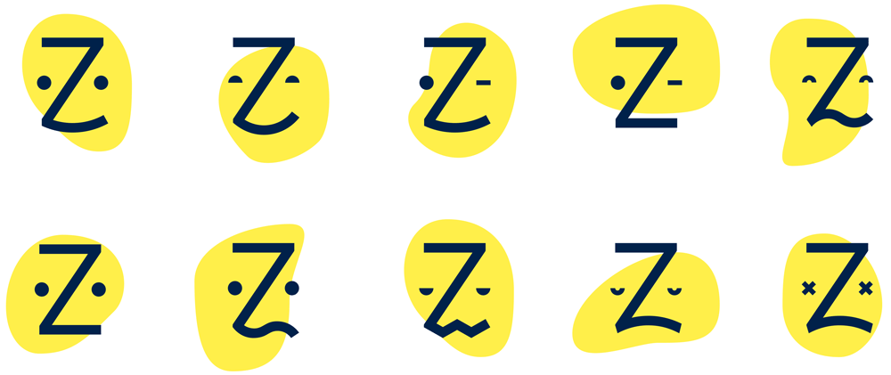 Creative variable logo trends from Zocdoc