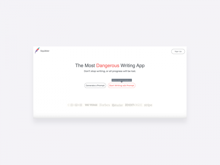online copywriting tool for writing motivation, the most dangerous writing app