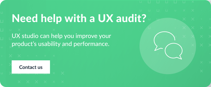 ux audit contact us banner