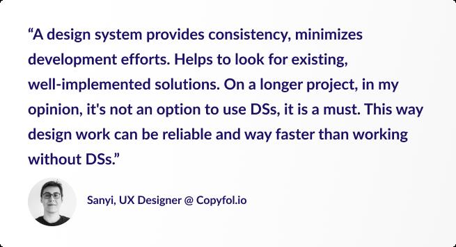 Design System-Testimonial-Sanyi