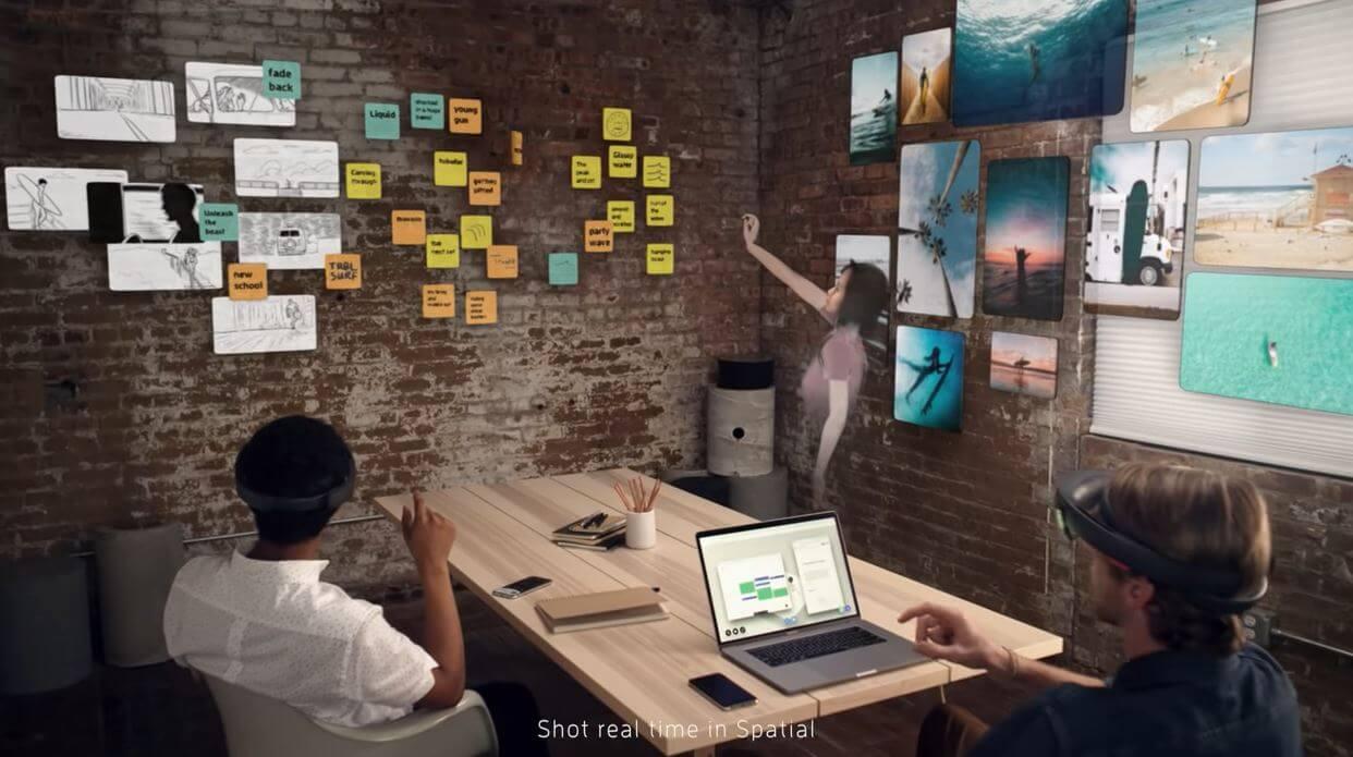 Spatial - virtual meeting