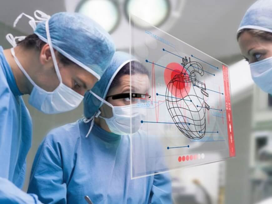 AR in healthcare - google glass